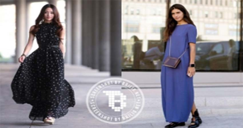 1aTips Menggunakan Maxi Dress Untuk yang Bertubuh Mungil