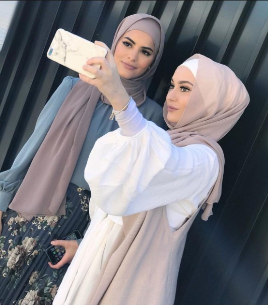Maxi Dress Muslimah Modis